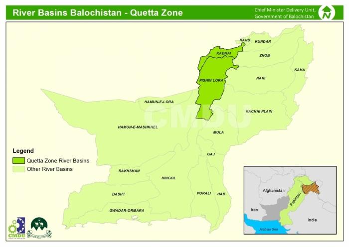 River Basin Quetta