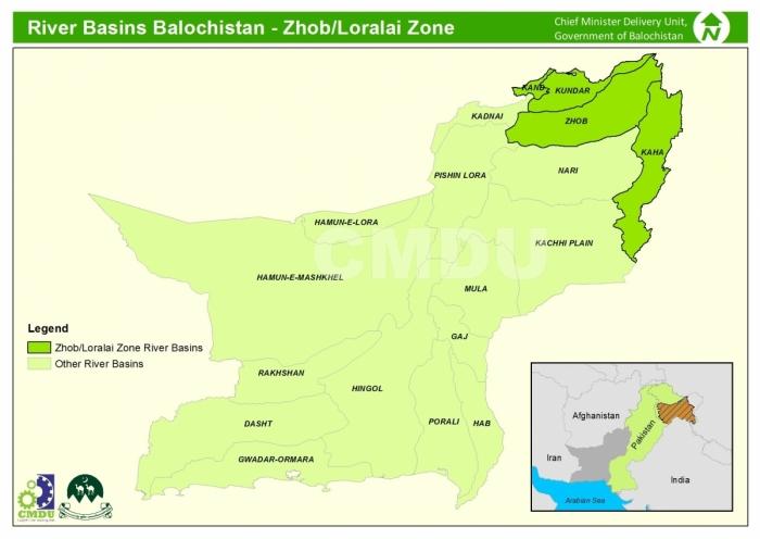 River Basin Zhob-Loralai